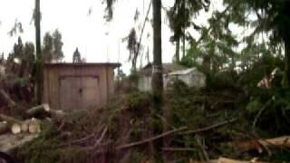 Ураган Лен.область.Последствия п.Сосново июль 2010(, 2010-07-30T17:01:16.000Z)