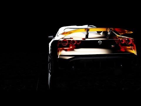 Stunning Nissan Gtr50 By Italdesign 50 Years Of Gtr Youtube