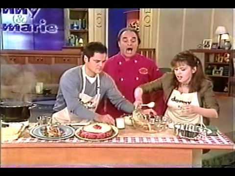 Donny & Marie with The Singing Chef Andy LoRusso