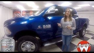 2018 Ram 2500 Tradesman Review | Video Walkaround | Used Cars and Trucks for sale at WowWoodys
