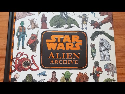 First Look: Star Wars Alien Archive!