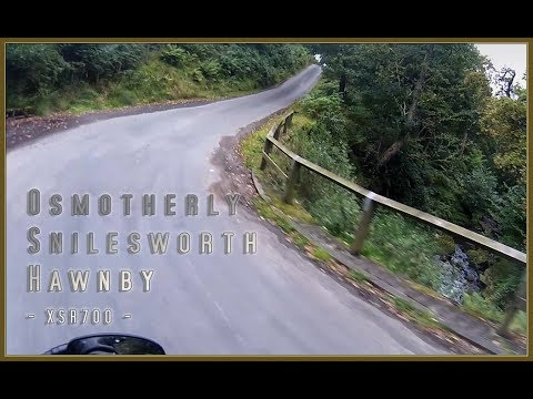 Osmotherly to Hawnby - XSR700
