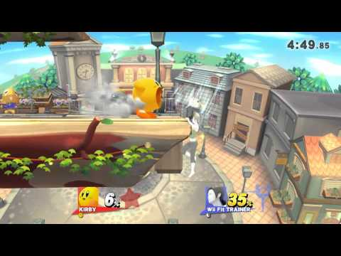 AOC¤Terry (Kirby) vs Ozyroth (Wii Fit Trainer)