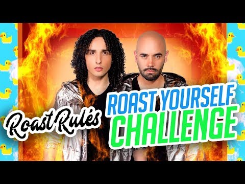 ROAST YOURSELF CHALLENGE · LOS RULES