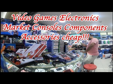 Video games electronics market china Guangzhou. Console, Components, accessories, and more.