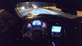 POV Night Drive - Corvette C7 Stingray Z51 8 Speed Automatic