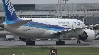 熊本空港 ALL NIPPON AIRWAYS BOEING787-8 JA819A