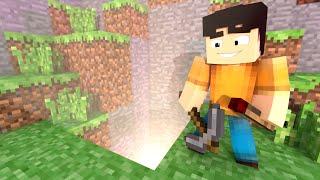 Minecraft: COMO FAZER UMA PASSAGEM SECRETA FACIL !!