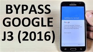 Video BYPASS GOOGLE Account Samsung Galaxy J3 2016 | How to | Tips & Tricks | January 2017 Security Patch download MP3, 3GP, MP4, WEBM, AVI, FLV April 2018