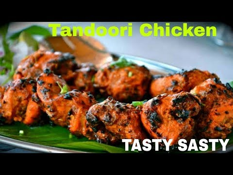 How To Make TANDOORI CHICKEN At Home, Tandoori Chicken In Microwave
