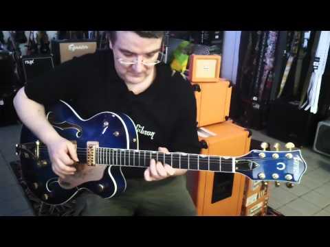 EMMA-MUSIC : GRETSCH 6120 BLUE AMP BELCAT