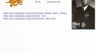 United States Navy SEALs Red Cell And Richard Marcinko