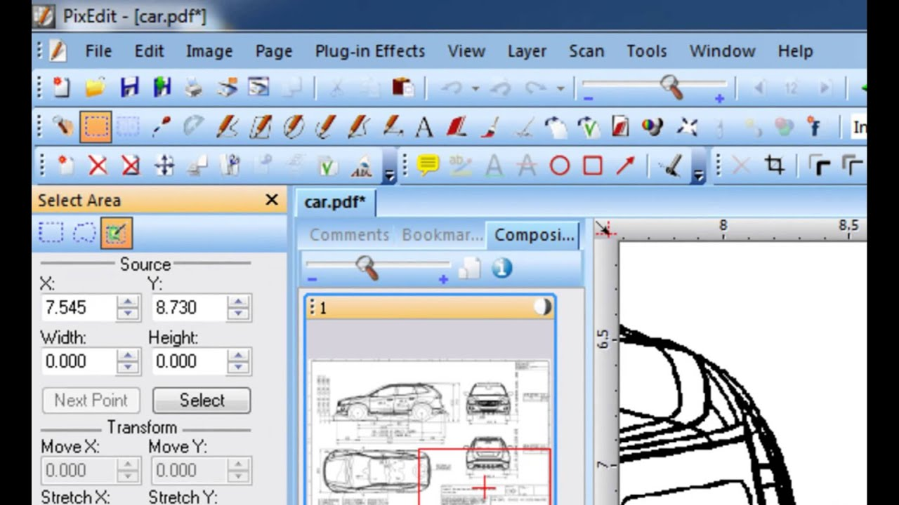 scanned document editor 29 Inserting text into scanned images using PixEdit Document Editing ...