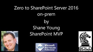 Creating VMs on Hyper-V for SharePoint - Video 1
