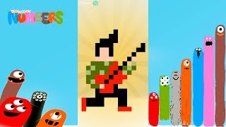Fun Music Part2 Puzzles - DragonBox: Numbers (iPad, iPhone, Android). Fun game for kids.