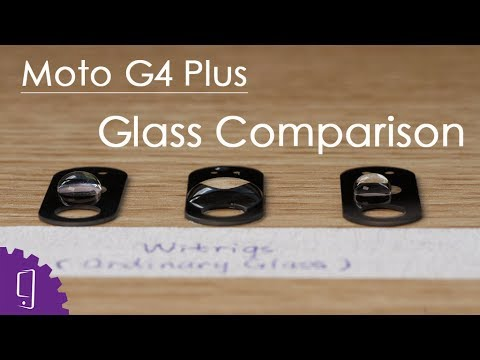 Moto G4 Plus Camera Lens Comparison: OEM Vs Ordinary Glass Vs Corning Glass