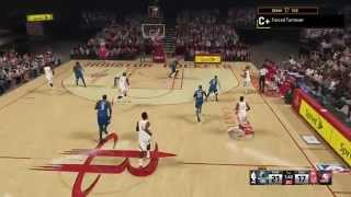 NBA 2K15 My Career Gameplay - Rookie Showdown vs Andrew Wiggins