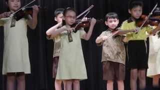 嘉諾撒小學(新蒲崗)音樂晚會 小提琴 基礎E班表演