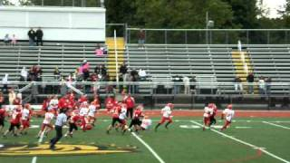 2010 East Islip Youth Football 11 year old Patriot Div. vs Commack