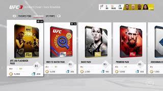 EA UFC 3 Ultimate Team - Huge 'UFC 200 Flashback' Pack Opening! Special Cards! 23 Packs!