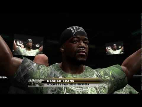 Jon Jones vs Rashad Evans UFC 145 Light Heavyweight Championship Full Fight Simulation