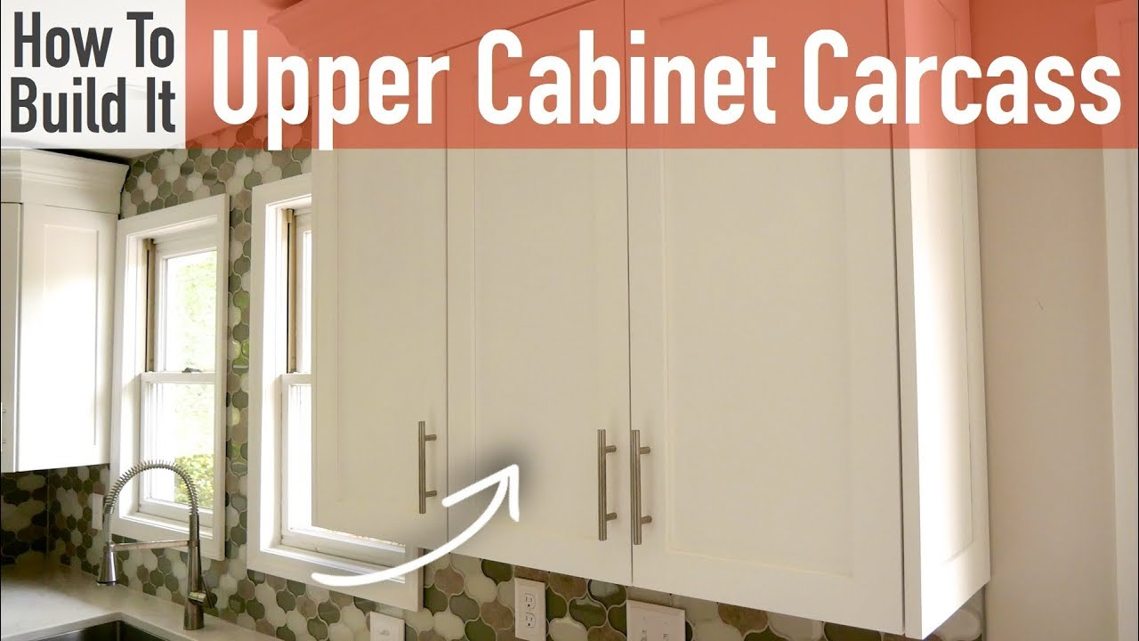 Diy 30in 15in Upper Cabinet Carcasses Frameless Youtube