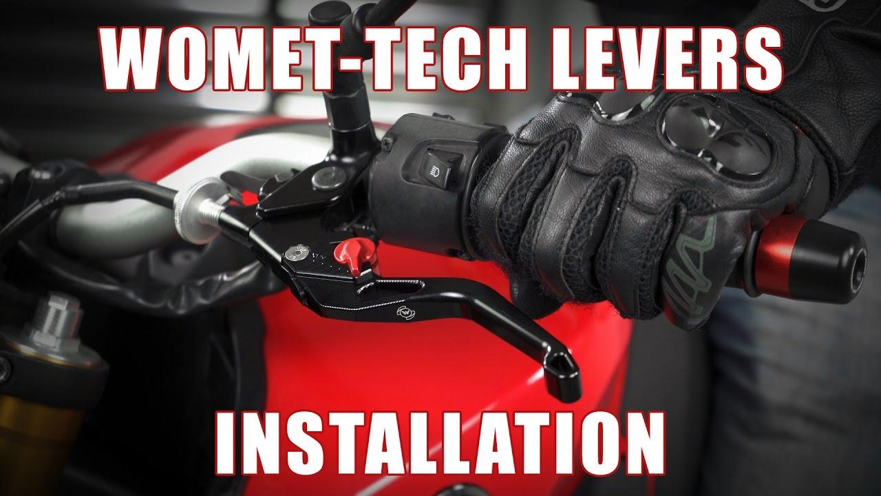 Womet-Tech Evos Shorty Lever Kit for Yamaha FZ-07 / FZ-09 / FZ6R & More
