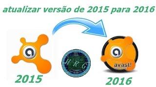 como atualizar o avast 2015 para versão de 2016