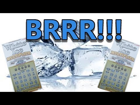"""$5 """"ICE"""" MULTIPLIER LOTTERY TICKET-COLD HEARTED TICKET!!"""
