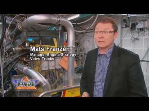 Грузовик Volvo на СПГ    LNG Methane Gas
