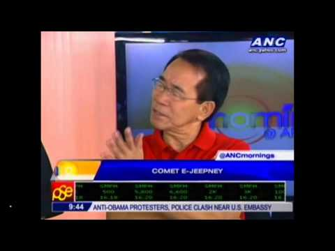 What is so special about COMET e-jeepney?