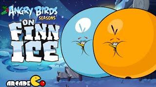 Angry Birds Seasons: On Finn Ice 1-25 Walkthrough 3 Star