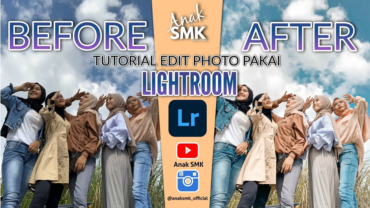CARA EDIT FOTO ALA SELEBGRAM | LIGHTROOM TUTORIAL | ANAK ...