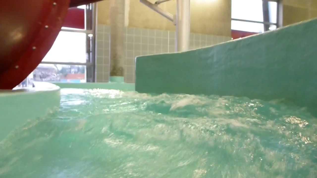 Le point d 39 eau wildwasserbahn rivi re sauvage youtube for Piscine de mons grand large