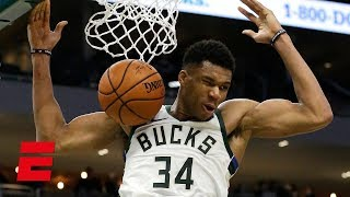Giannis Antetokounmpo outduels Ben Simmons in a battle of triple-doubles | NBA Highlights