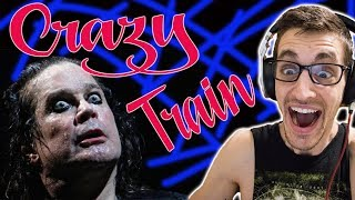 """Hip-Hop Head's FIRST TIME Hearing """"Crazy Train"""" by OZZY OSBOURNE"""