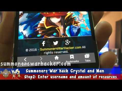 Summoners War Crystals Hack - Summoners War Hack 2016 (Android&iOS)