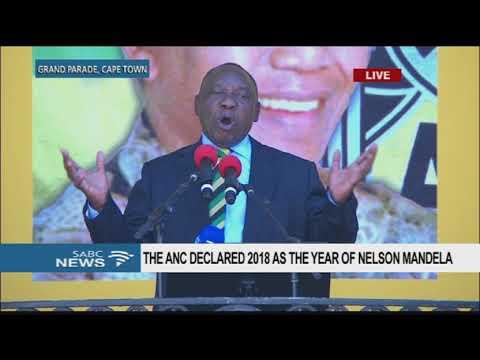 Ramaphosa address speech at the N. Mandela Centenary celebrations