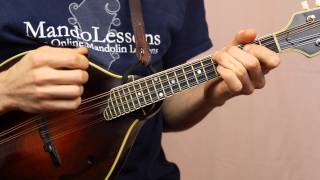 Billy In The Lowground (With Tabs & Play Along Tracks) - Mandolin Lesson