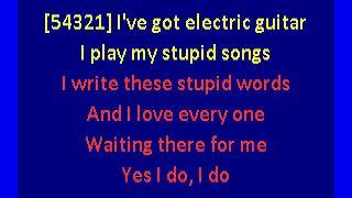 Weezer - In The Garage (karaoke)