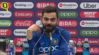'I Apologised to Smith on Behalf of the Crowd': Virat Kohli | The Quint