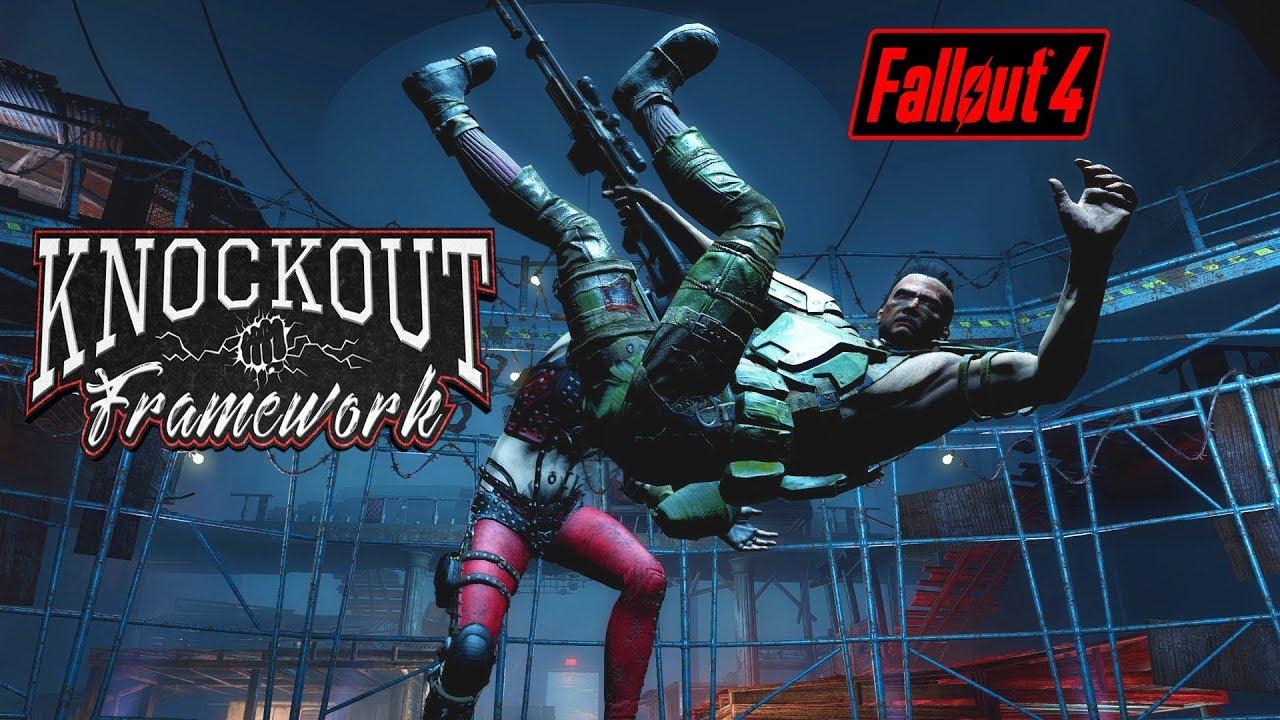 Fallout 4 - KNOCKOUT FRAMEWORK - Kidnap NPCs & Be a Pacifist!