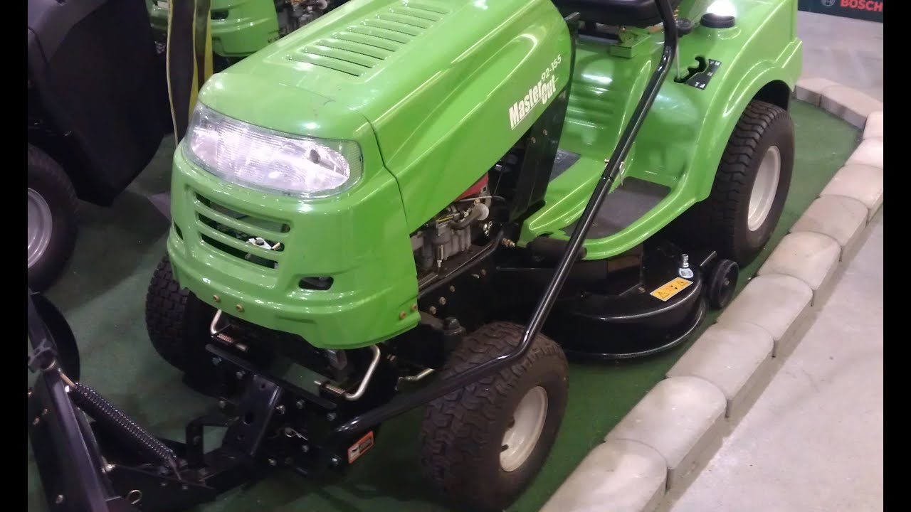 RASENTRAKTOR MASTERCUT 92-155 Rasenmäher Traktor Tractor ...