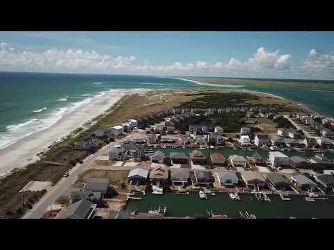 Topsail Beach Day before Hurricane Florence, 9/12/2018