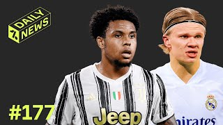 Haaland has SIX transfer options + Juventus CONFIRM midfield SIGNING!