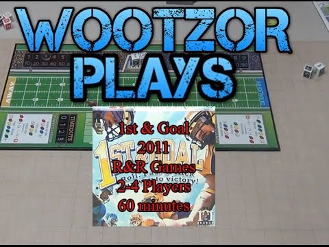 Team Wootzor Plays 1st and Goal by RR Games