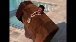 """Оригинальные кадры клипа Kanye West x Lil Pump — """"I Love It"""""""