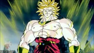 DBZ-Ssj Goku Defeat's LSsj Broly (2K HD)