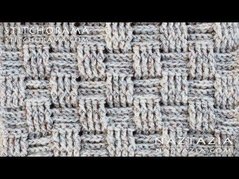 How to Crochet Basket Weave Stitch - Post Stitch 004 - DIY Tutorial - Stitchorama by Naztazia