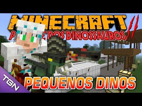 Minecraft Parque dos Dinossauros II :: Ep 28 :: PEQUENOS DINOS